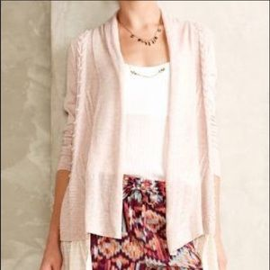 Anthropologie Knitted & Knotted Cardigan-B9